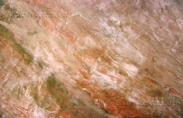 Мраморная декоративная штукатурка фото