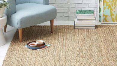 Фото Натуральные ковры из растительных волокон: виды и особенности