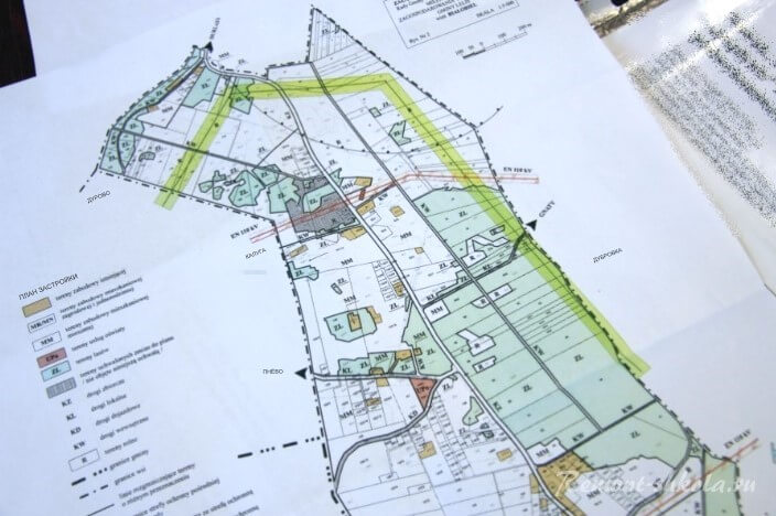 План схема участка