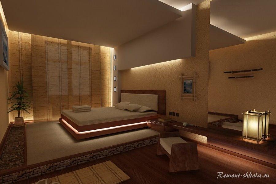 Стилизованная спальня