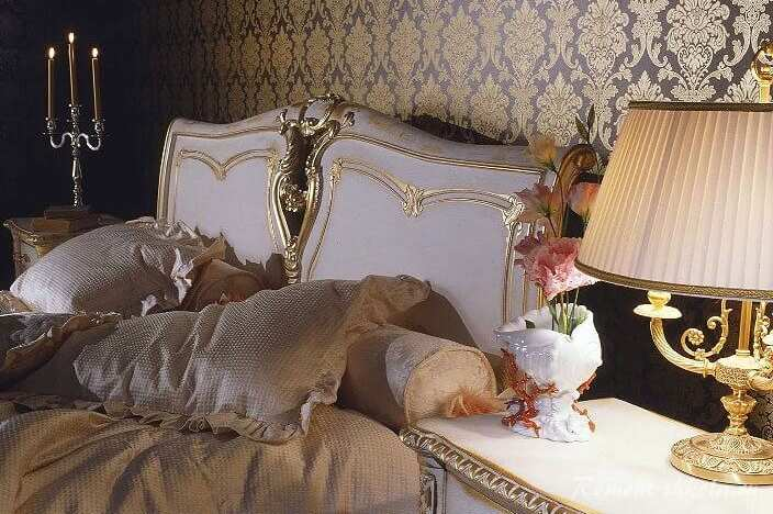 Спальня стиль Людовика XVI