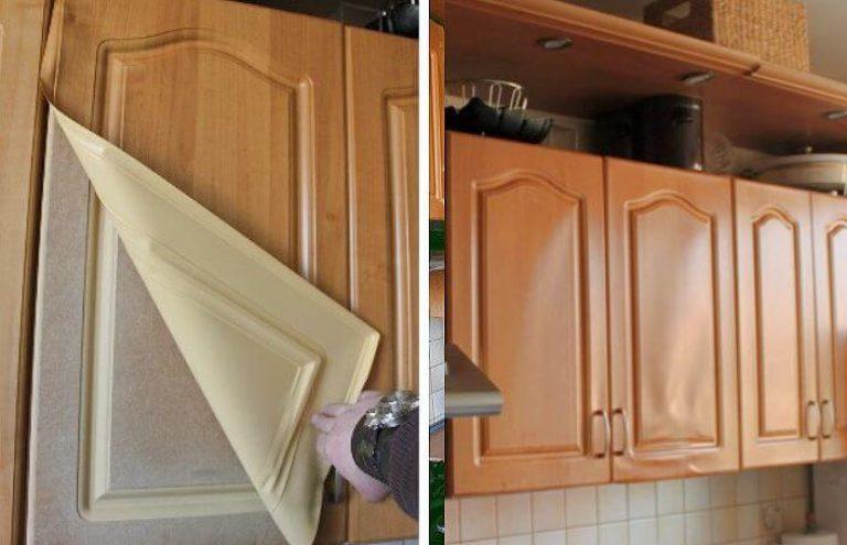 Как перекрасить кухонный гарнитур из дсп.