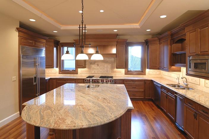 Столешница для кухни из природного камня