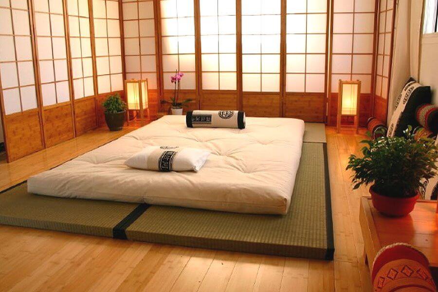 Традиционное спальное место по-японски