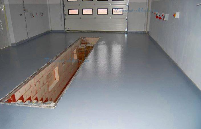 Уретано-алкидная краска по бетону