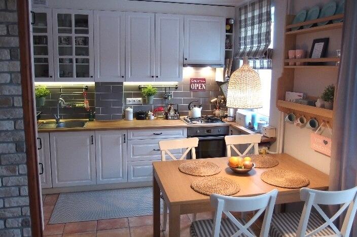 Уютная организация кухонного пространства