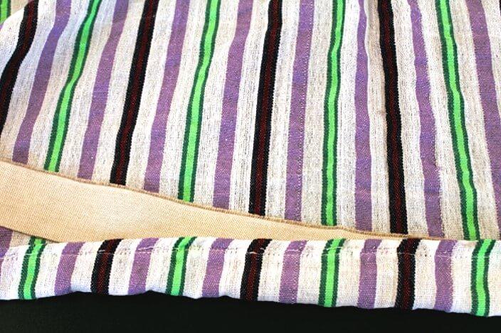 Вшивание корсажной ленты