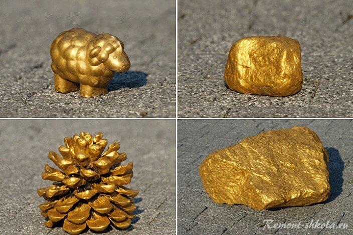 Окраска магнатом GOLD